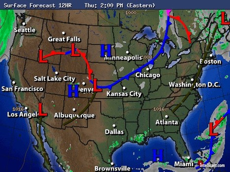 Weather Map Of The United States Thefreebiedepot - Us weather map today